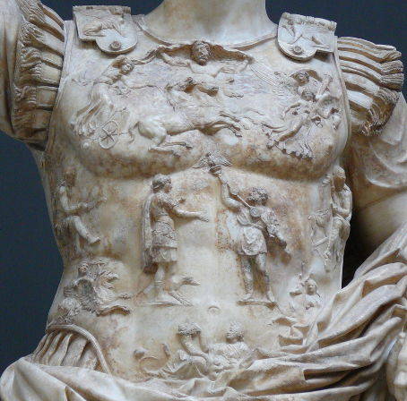 Augustus from Prima Porta – cuirass